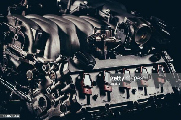 Gros plan moteur V10