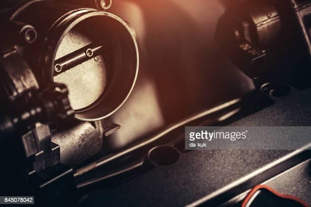 V10 Engine close-up