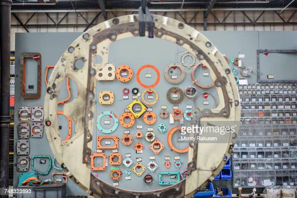 Engine gaskets and seals in train works