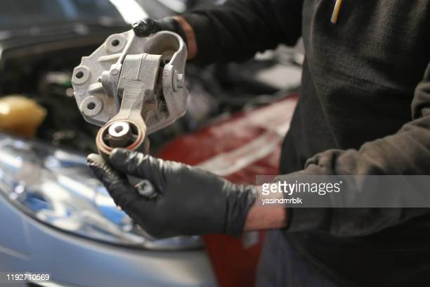 engine mount replacement - spare part stock pictures, royalty-free photos & images