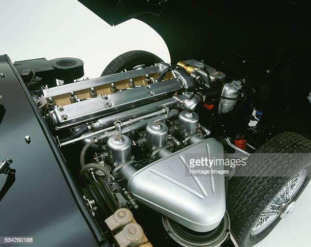 Engine of 1964 Jaguar E type 38 Ex George Harrison owned 2000