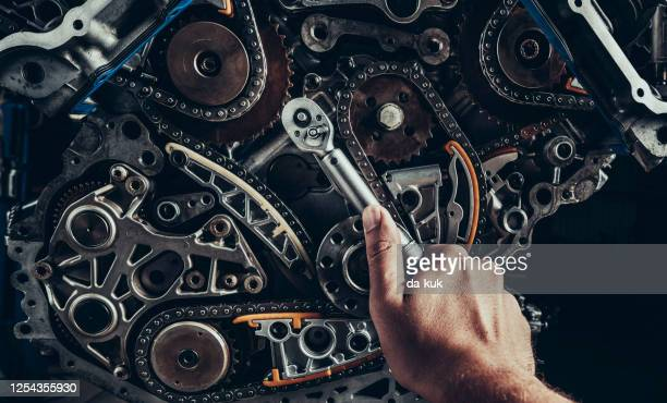engine repair and service - spare part stock pictures, royalty-free photos & images