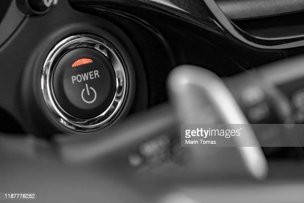 engine start/stop switch - engine stock pictures, royalty-free photos & images