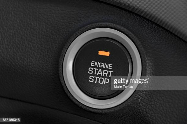 Engine strat/stop button