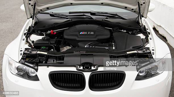 BMW M3 Engine under Hood