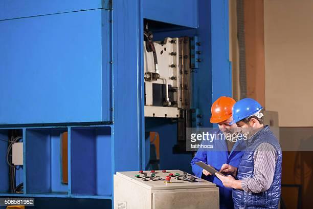 Engineer and Foreman