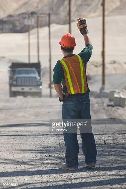 Engineer at a gravel and asphalt plant