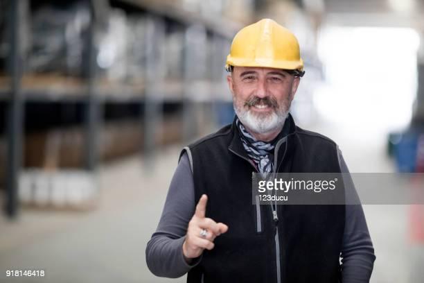 Engineer At Factory