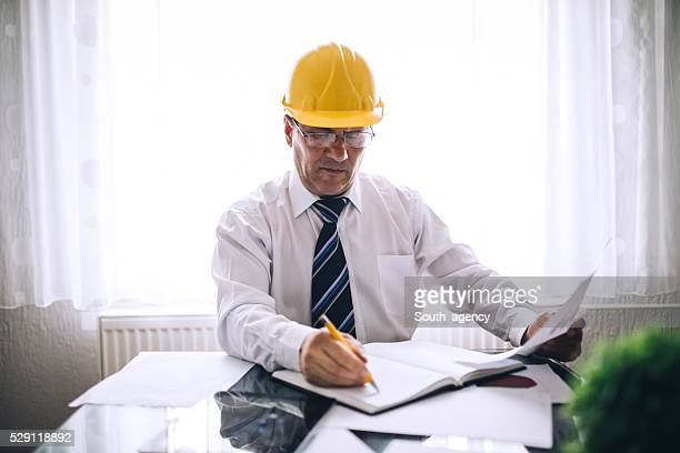 Engineer at work