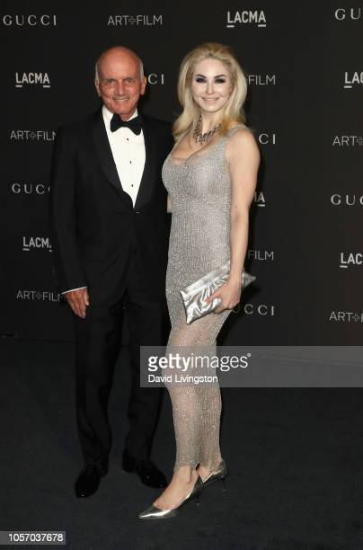Engineer Dennis Tito and author Elizabeth TenHouten attend 2018 LACMA Art Film Gala honoring Catherine Opie and Guillermo del Toro presented by Gucci...