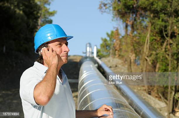 engineer in a geothermal power station - physical geography stock pictures, royalty-free photos & images