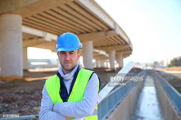 engineer portrait - sewer stock pictures, royalty-free photos & images