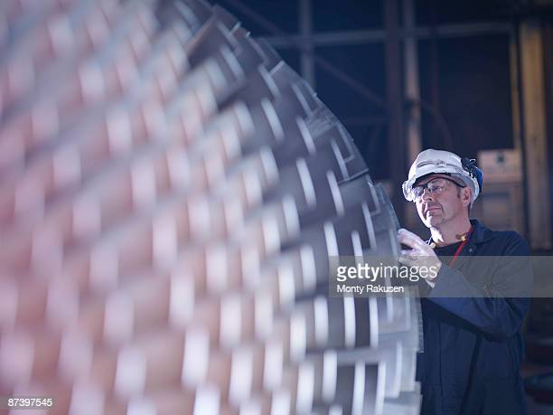 Engineer With Turbine