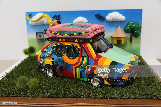 Engineering Inspiration Award Ecofix Car of Minhal Adnan Sami which was converted into a 3D clay model by Toyota's Prototype Production Division at...