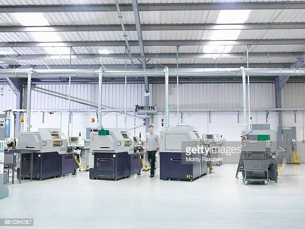 Engineering production line in factory