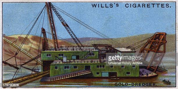 Engineering Wonders, 1927: Gold dredger, USA.