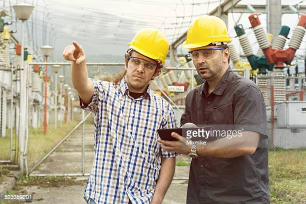 Engineers on inspection