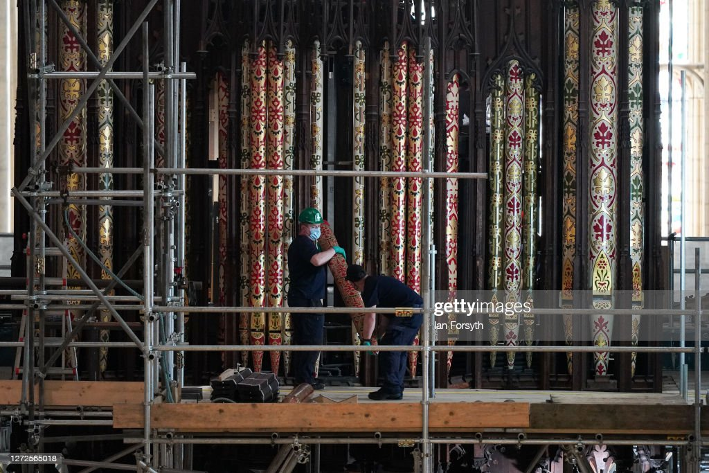 Rebuilding Of York Minster's Grand Organ Enters Final Phase : News Photo