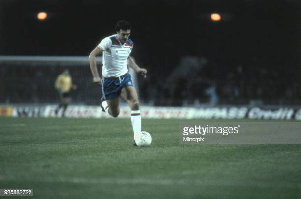 England 21 Switzerland World Cup Qualifier Wembley Stadium London 19th November 1980 Trevor Brooking