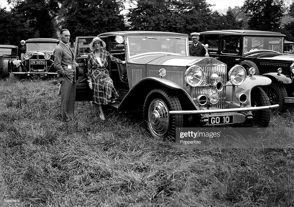 England, 3rd July 1931, Sir Donald Campbell and his wife pictured ...