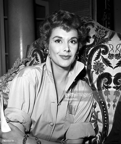 England A portrait of actress Kay Kendall on the set of the film 'The Constant Husband'