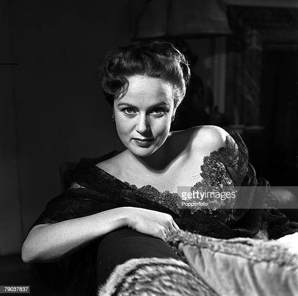 England A portrait of actress Nadia Gray