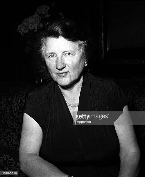 England A portrait of American actress Marjorie Main