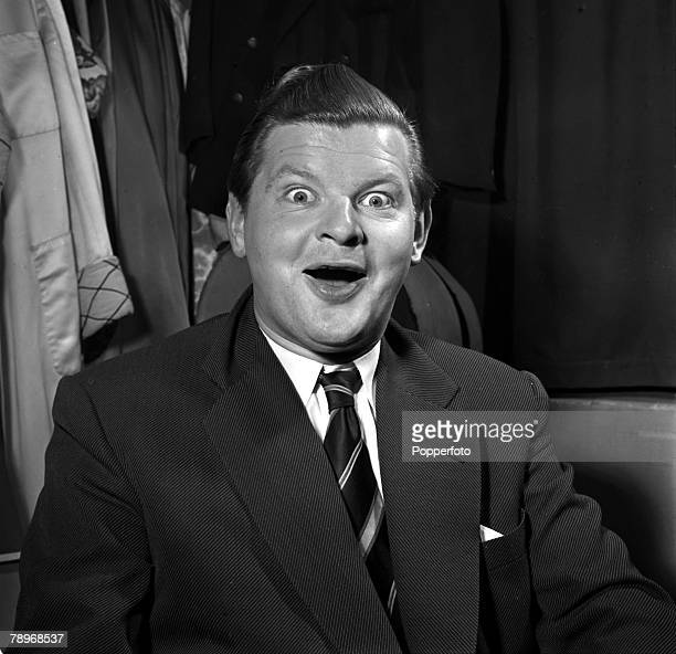 England A portrait of British actor and comedian Benny Hill