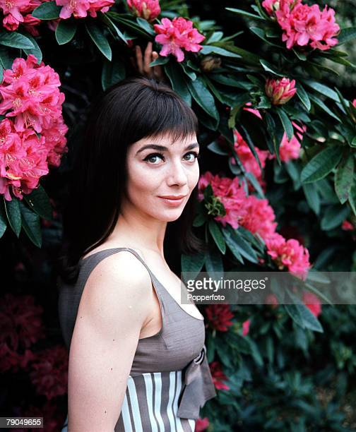 England A portrait of British actress Jacqueline Pearce