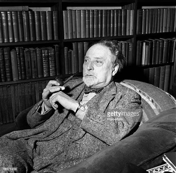 England A portrait of British author Compton MacKenzie