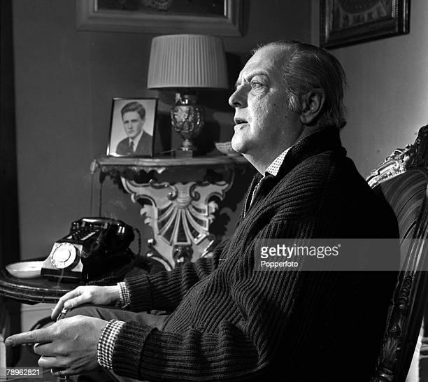 England A portrait of British politician Randolph Churchill, son of former Prime Minister Winston Churchill