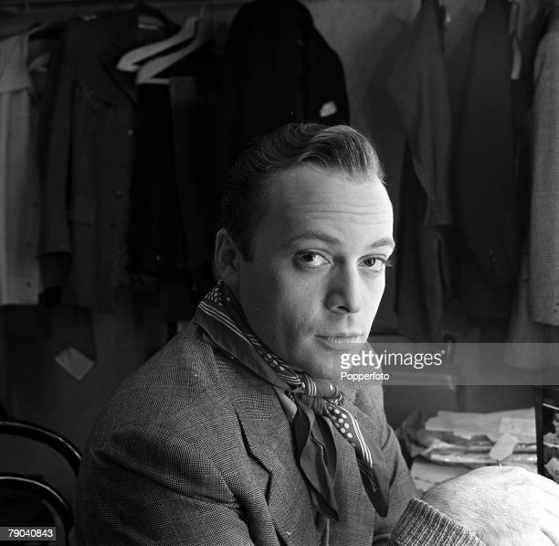 England A portrait of Czechoslovakia born British actor Herbert Lom on the set of the film Hell is Sold Out