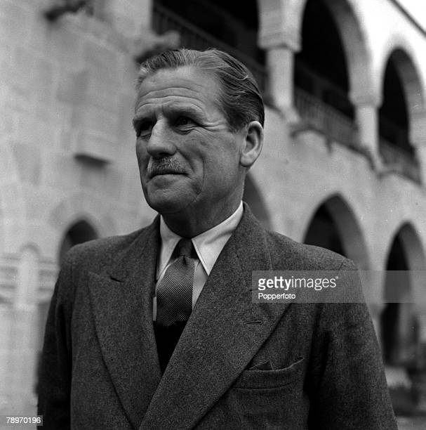 England A portrait of Field Marshal Sir John Harding, Governor General of Cyprus
