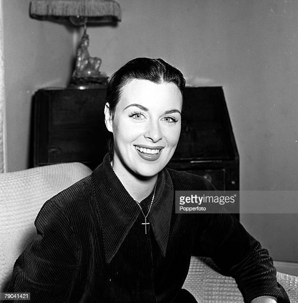 England A portrait of Irish born actress Constance Smith