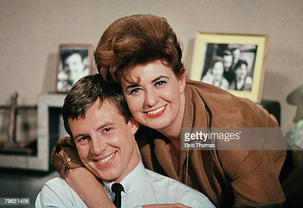 England Actor Philip Lowrie and actress Pat Phoenix who played Elsie and Dennis Tanner in the television series Coronation Street