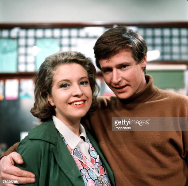 England Actors Anne Reid and William Roche who play the roles of husband and wife Ken and Valerie Barlow in the television soap opera Coronation...