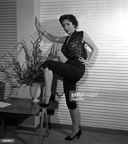 England Actress Margo Lorenz poses for the camera