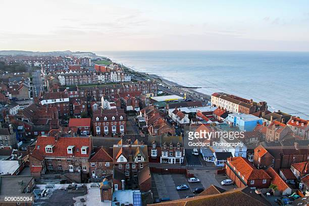 England: Aerial View of Cromer