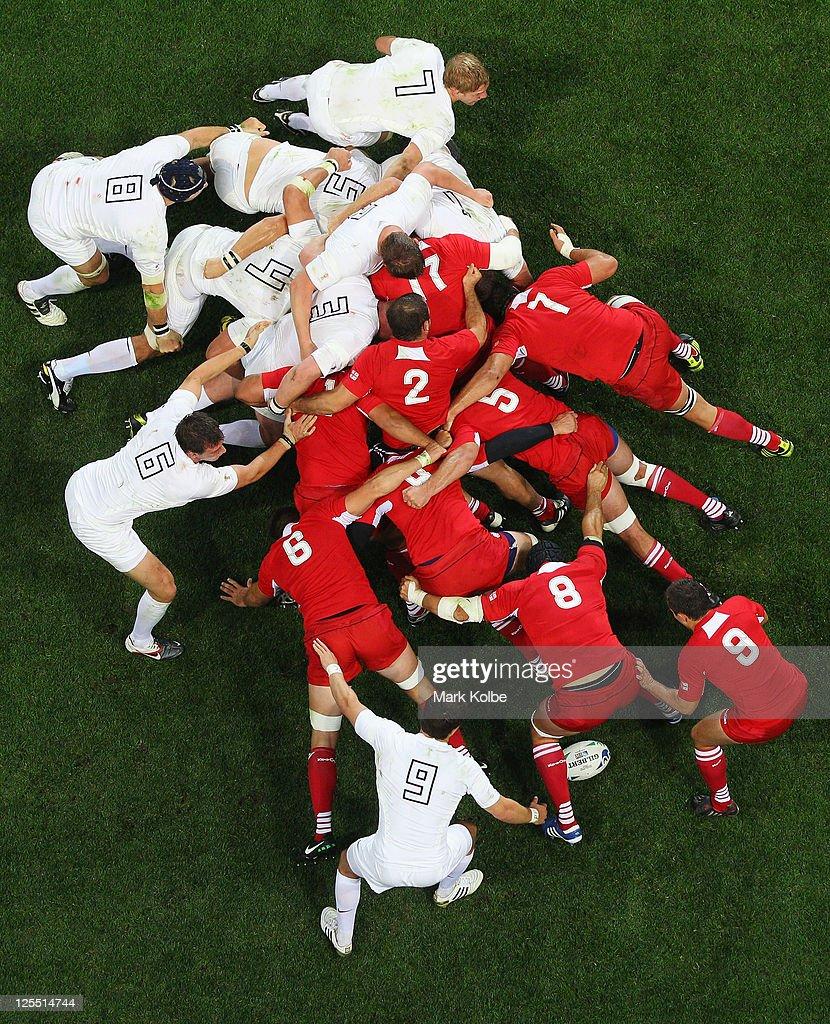 England v Georgia - IRB RWC 2011 Match 18 : ニュース写真