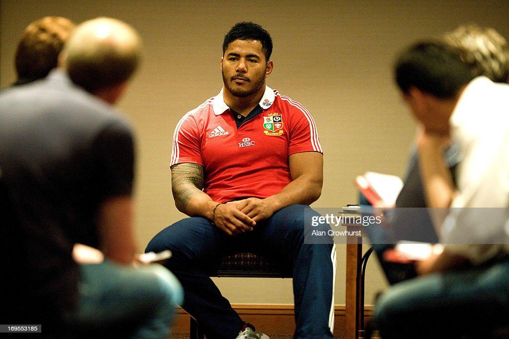 British and Irish Lions Media Session : News Photo