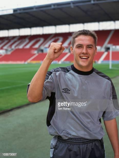 England and Liverpool striker Michael Owen circa 2000
