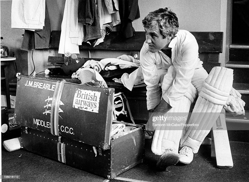 Mike Brearley : News Photo