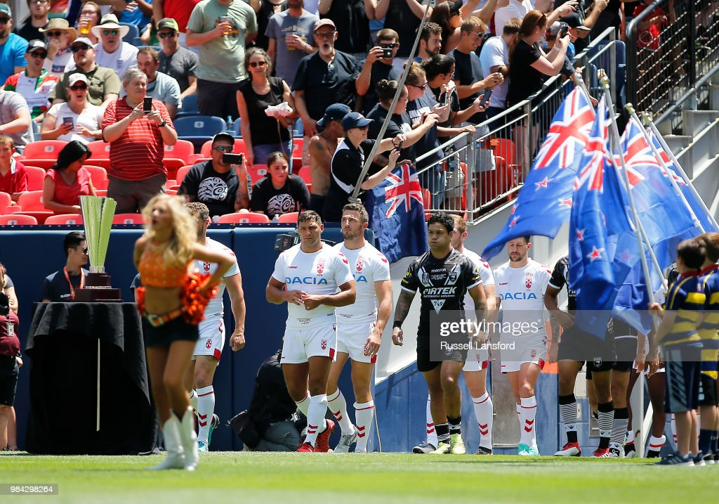 England v New Zealand : News Photo