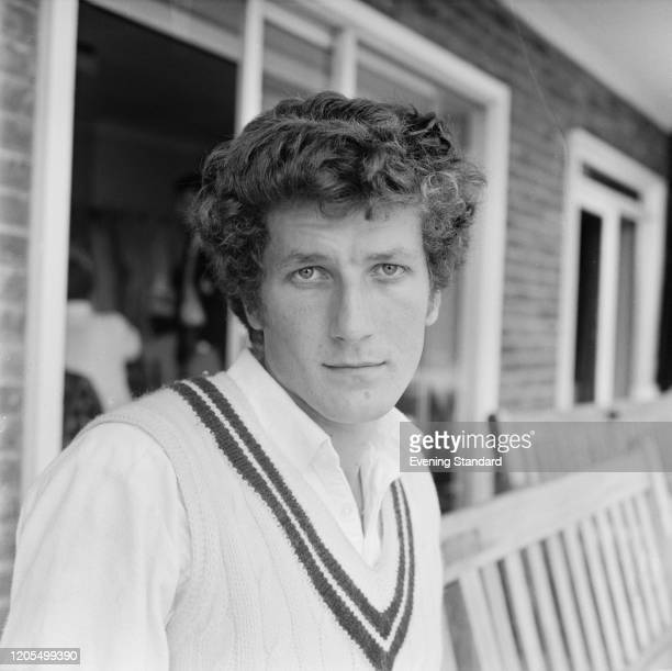 England and Surrey cricketer Bob Willis posed prior to playing in a county cricket match on 28th May 1971