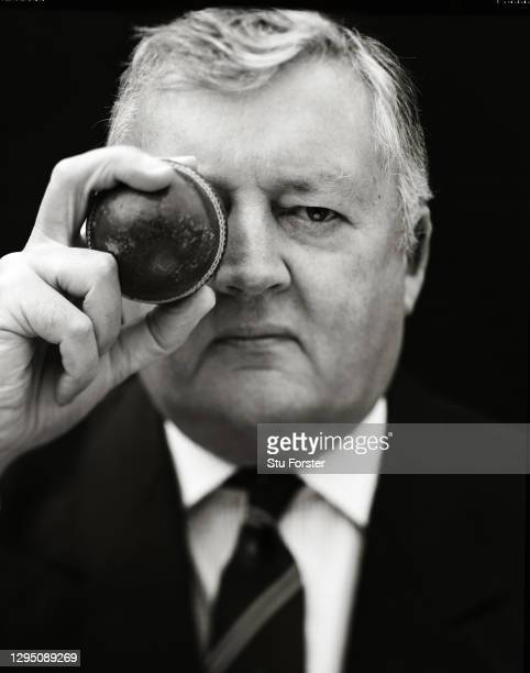 England and Wales Cricket Board Chairman David Morgan pictured at home in early 2003, in Newport, South Wales, United Kingdom.