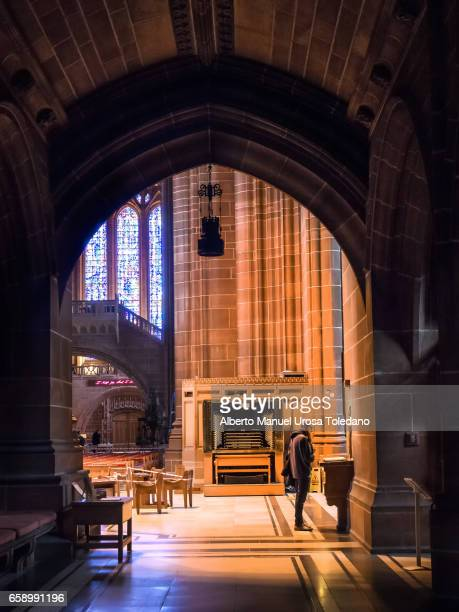 England, Anglican Liverpool Cathedral