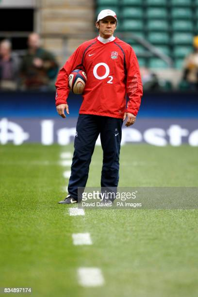 England attack coach Brian Smith
