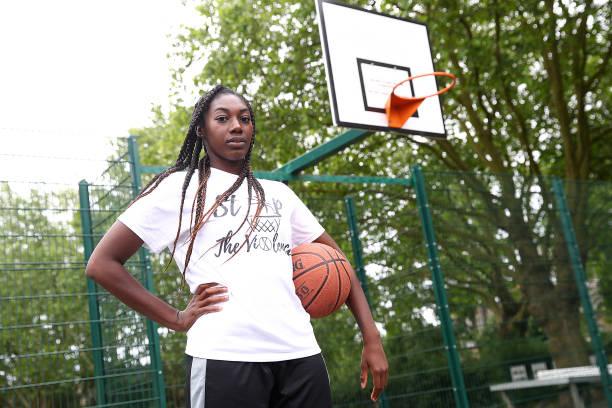 GBR: Team England Basketball Player Melita Emanuel-Carr Training during the Coronavirus Pandemic