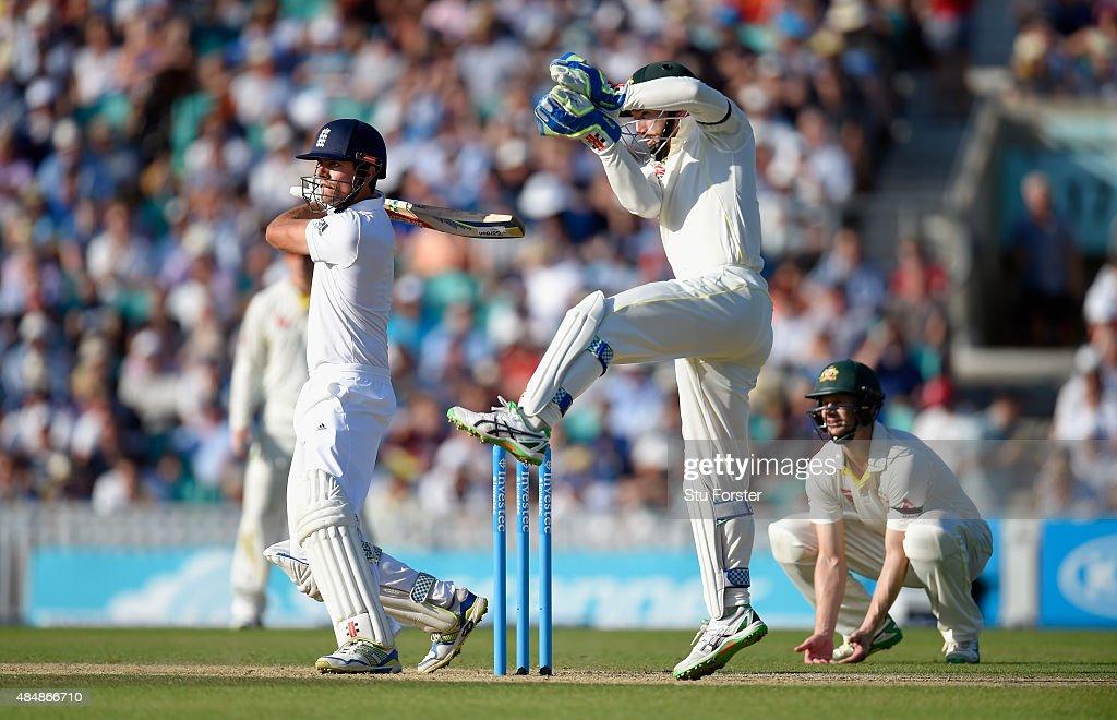 England v Australia: 5th Investec Ashes Test - Day Three