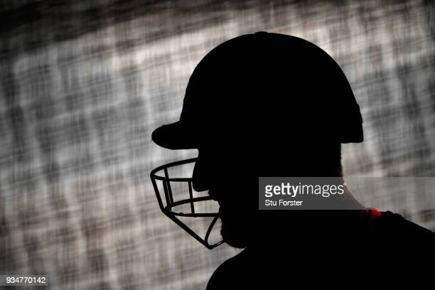 England batsman Ben Stokes in the nets during England nets at Eden Park on March 20 2018 in Auckland New Zealand